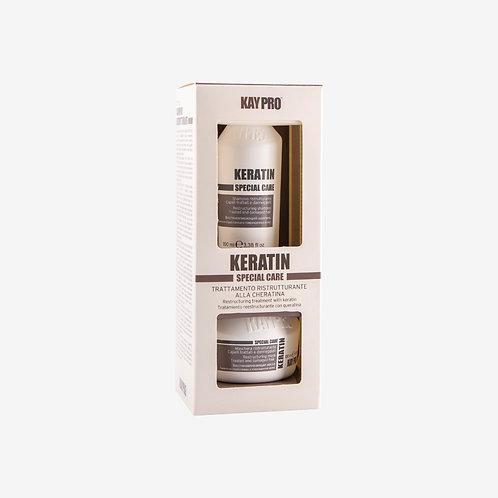 KAY PRO KERATIN Комплект шампоан и маска за коса с кератин