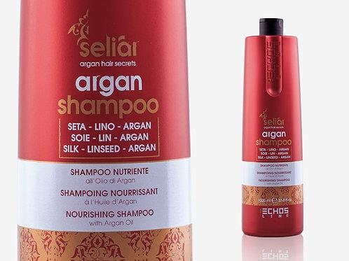 SELIAR ARGAN SHAMPOO Подхранващ шампоан с арганово масло