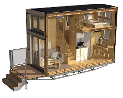 Rightsized NaviHo Tiny House - multiple configurations available