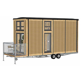 Bill Dunster Tiny House on a Trailer