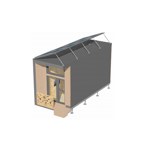 RightsiZED Tiny House_Layout 5 External_Bill Dunster
