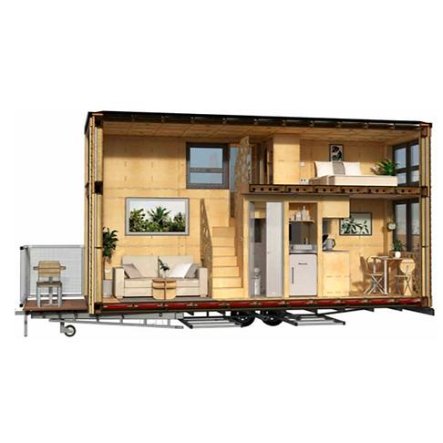 RightsiZED Tiny House_Layout 2 Internal_Bill Dunster