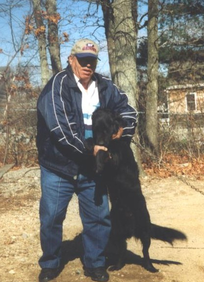 Dad with Shadow