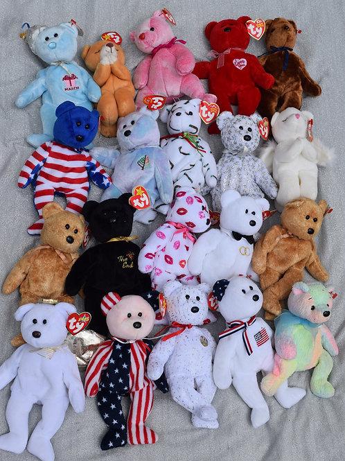 Beanie Babies (each)