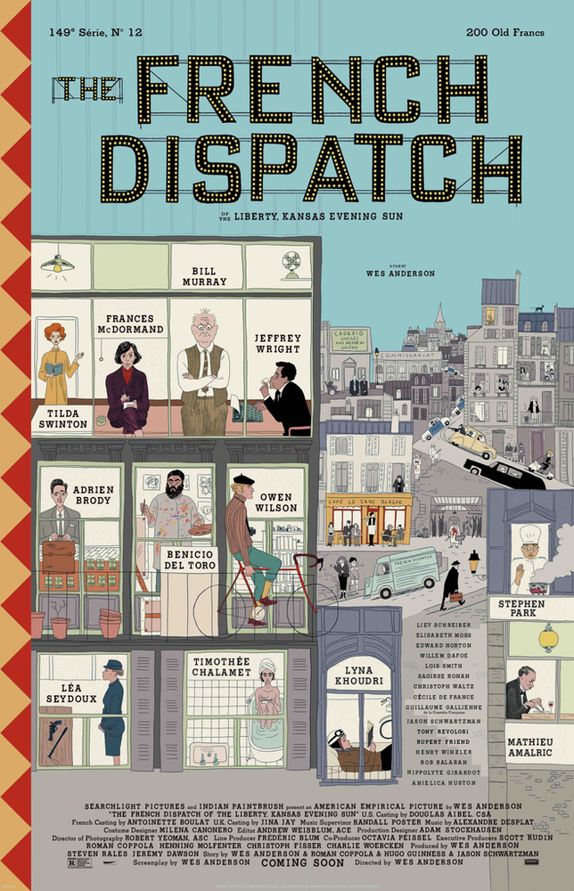 The French Dispatch LFF Film Review