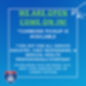 Blue Typographic Social Media Graphic (1