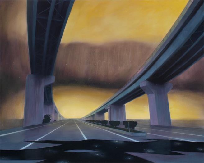 Landscape(ring road) / 風景(山側環状道路)