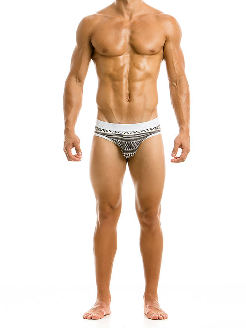 Graphic Fishnet Brief