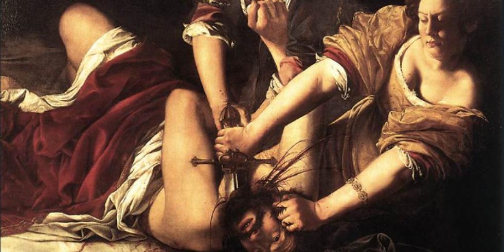 Artemisia Gentileschi, le peintre est une femme !