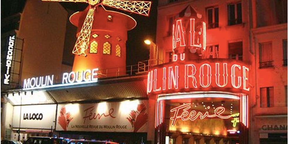 """Visite guidée """"Montmartre quand le soleil se couche, artistes, grisettes et mauvais garçons"""""""