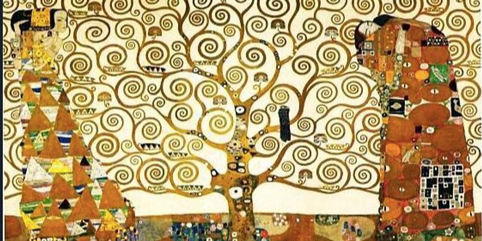 Visite Famille: Klimt-Hundertwasser, des spirales, des arbres, de l'or