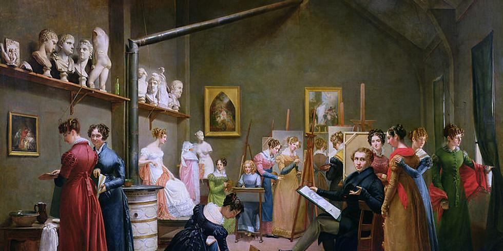 """Conférence """"Cycle femmes artistes : les femmes dans les collections du Louvre"""""""