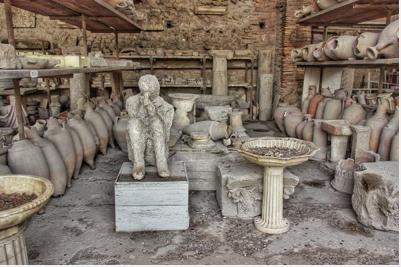 Pompéi, la cité engloutie par le Vésuve