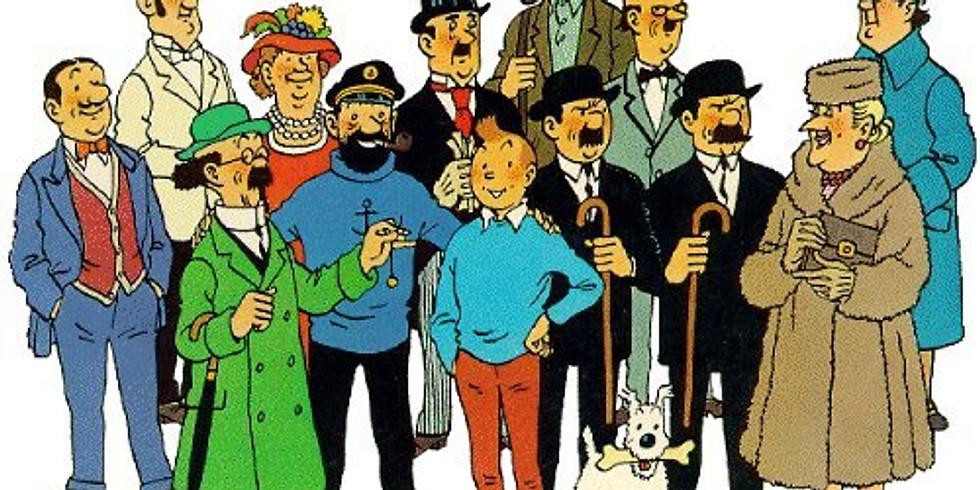 Tintin et Hergé au pays du 9e art