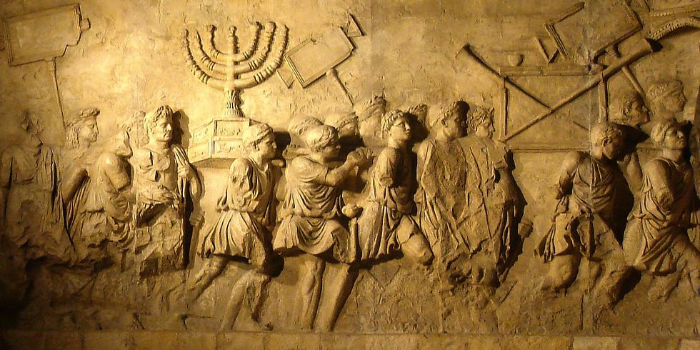 """Conférence """"Le monde juif : les Juifs d'Alexandre le Grand à la destruction du Temple de Jérusalem"""""""