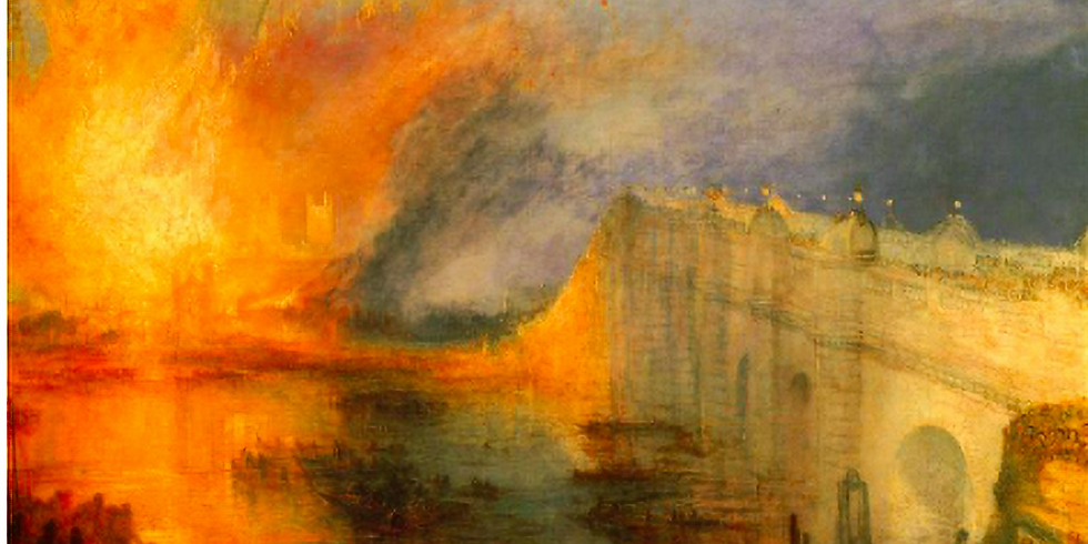 Turner ou l'incendie de la peinture