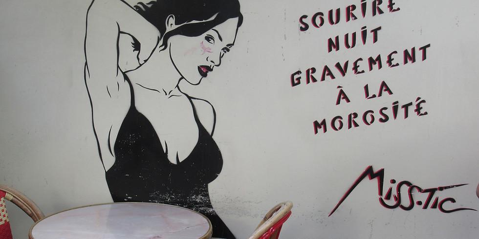 Miss. Tic, street art sensuel et spirituel