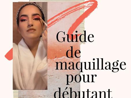 Guide de maquillage pour débutant
