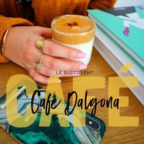 Le succulent café Dalgona