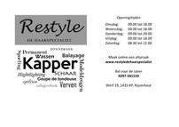 Restyle kapper