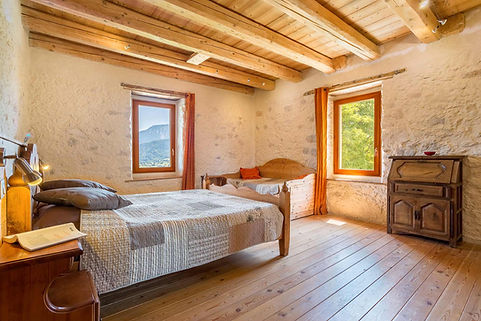 Chambre d'hotes les esseroliettes Savoie chambre margeriaz