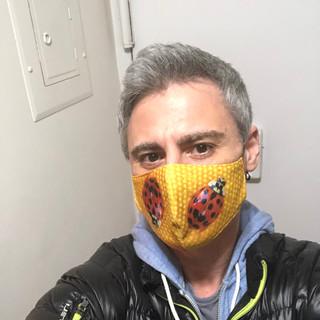Ladybug Fashion Face Mask