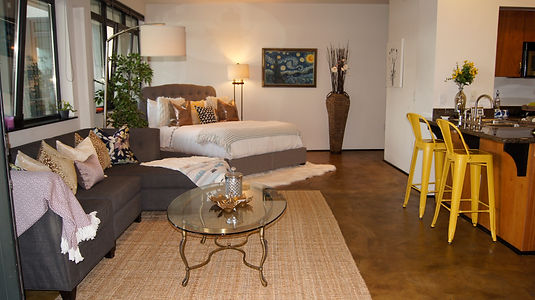 3-Vacant Loft-Staged To Sell-San Diego, CA.