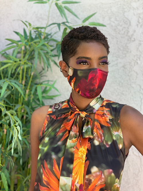 Moisture Wicking Fashion Face Mask for Adults (adjustable)