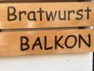 Balkonbratwurst