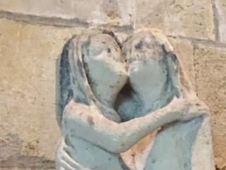 A fading kiss