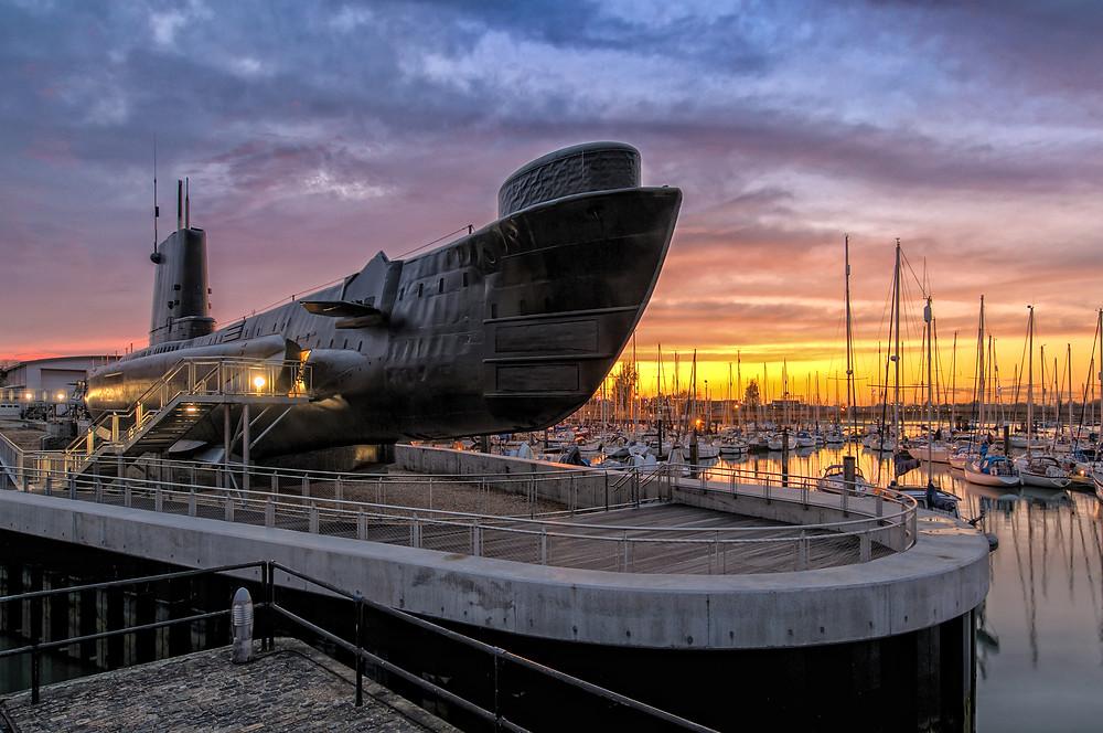 Royal Navy Submarine Museum, Gosport, Hampshire UK