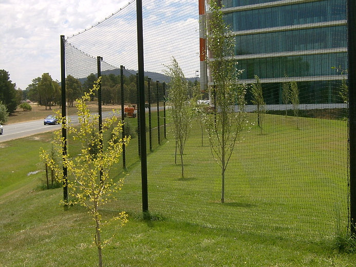 Brindabella Business Park High Netting.JPG
