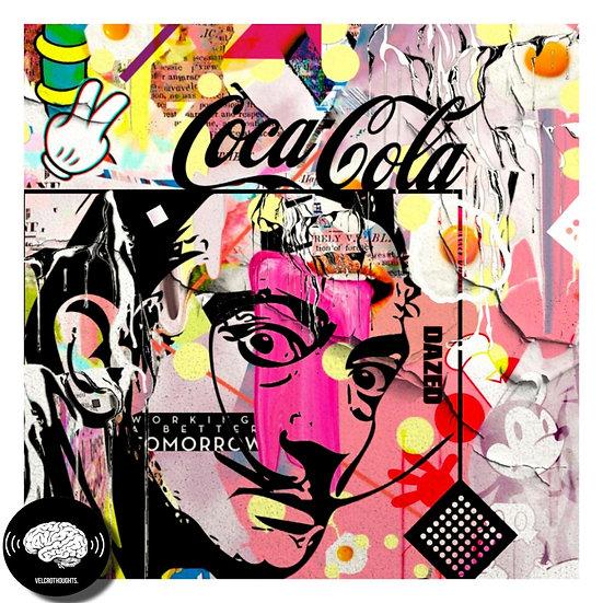 Salvador Dali Digital Pop Art Print.