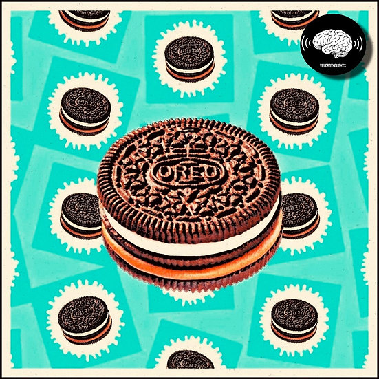 Oreo Biscuit Print.