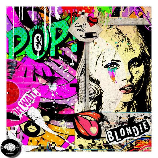 Debbie Harry Digital Pop Art Print.