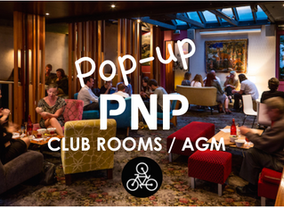 POP-UP Club Rooms / AGM
