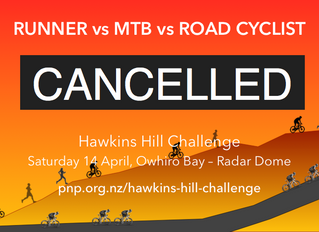 Hawkins Hill Challenge Cancelled
