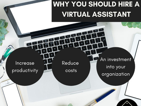 3 Reasons You Should Hire a Virtual Assistant Right Now.
