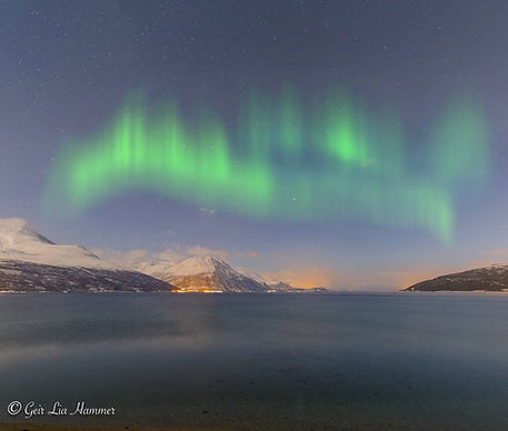 Aurora above Storfjord