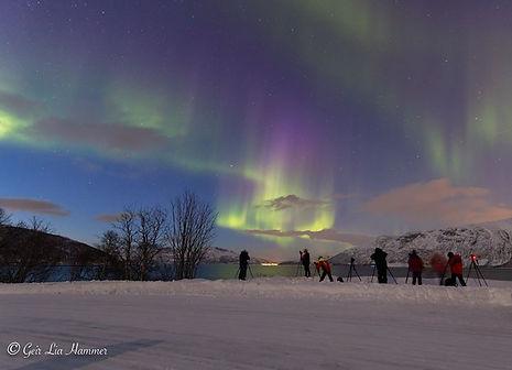 Aurora Borealis tour with BorealisExpedition