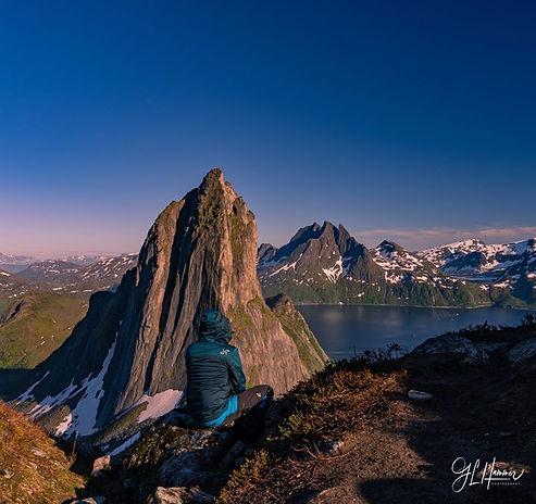 Fjord tour aroun Senja island