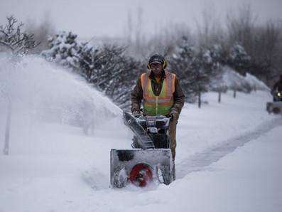 Lightfield Enterprises Assists During Snow Storm