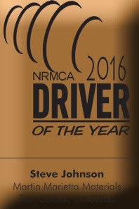 Lightfield Enterprises is proud to work with NRMCA Driver of the Year Awardee