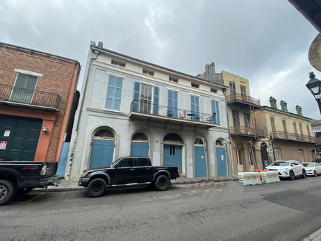 Grandfather's House in New Orleans