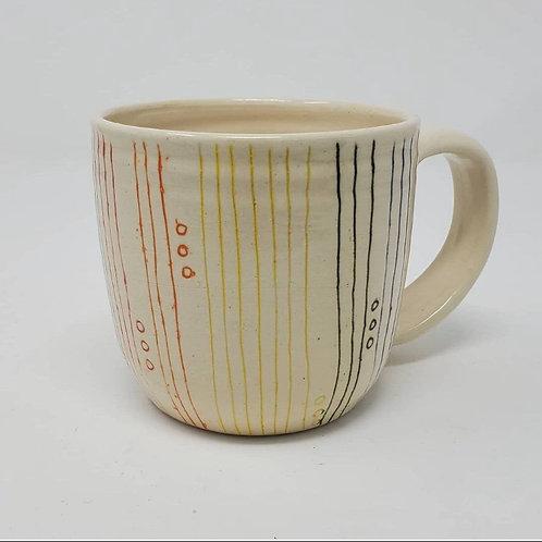 Rainbow Mug - Lined