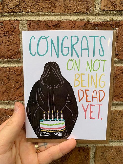 Dead Yet - Birthday