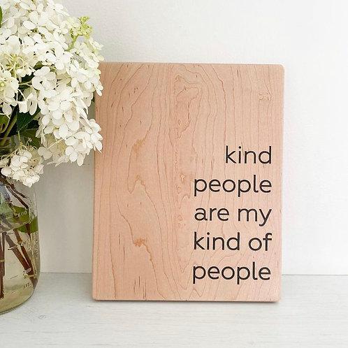 Wooden Shelf Sign