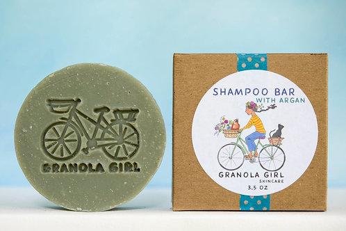 Shampoo Bar with Argan Oil- Zero Waste Hair Care