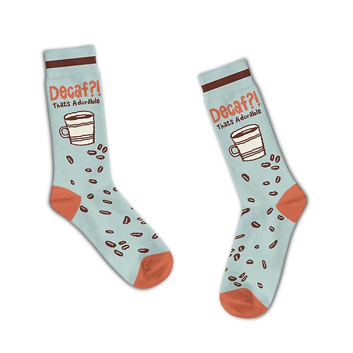 Decaf? That's Adorable Socks