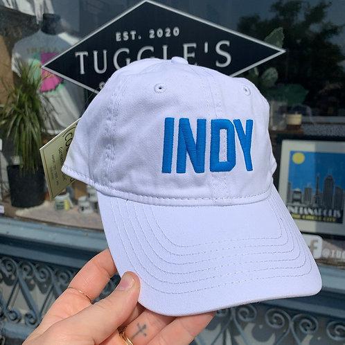 INDY hat (WHITE)